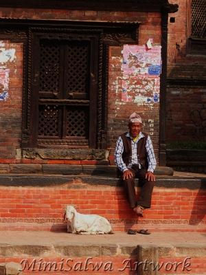 nepal_mannundziege